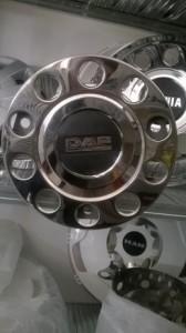 Krom poklopci kotača 22.5″ DAF