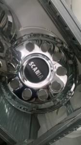 Krom poklopci kotača 22.5″ SCANIA
