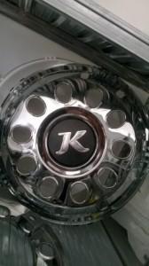 Krom poklopci kotača 22.5″ SETRA